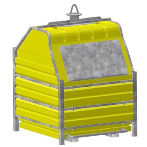 container jaune